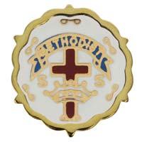 Methodist Cross and Crown Sunday School One Year Pin