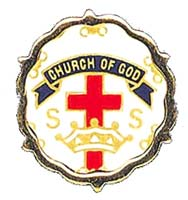 Church of God Cross and Crown Sunday School One Year Pin