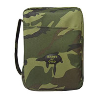 Camouflage Bible Cover Large or XLarge