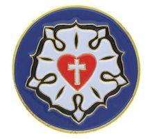 Lutheran Rose Pins