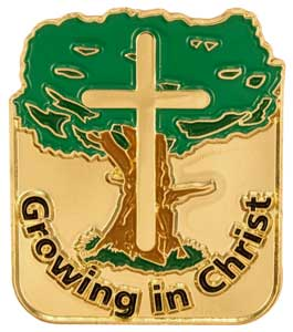 Growing in Christ Studying Pins