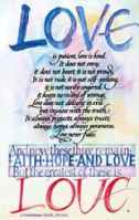 Love Is Patient Postcards (Pkg of 25)