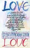 Love Is Patient Postcards (Pkg of 25)