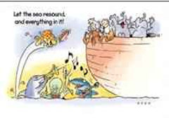 Noah's Ark Postcards (Pkg of 25)