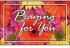 Praying For You Postcards (Pkg of 25)