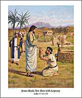 Jesus Teaches about God's Kingdom Bible Story Poster Set
