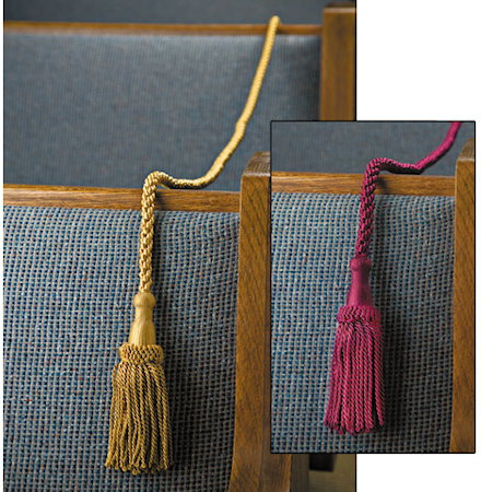 Pew or Seat Closed Ropes Weighted