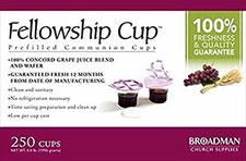 Communion Bread & Juice Cup Set (Box of 250)
