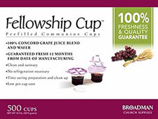 Communion Bread & Juice Cup Set (Box of 500)