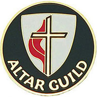 United Methodist Church Altar Guild Pin