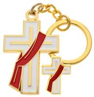 Deacon key chain gold