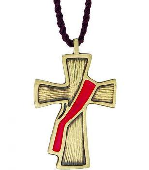 Deacon Cross Necklace - The Passion & Fire
