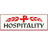 Hospitality Badge Pin White