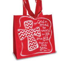 John 3:16 Eco Tote Bag Inspirational