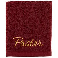Pastor Hand Towel Cotton Church Hand Towel