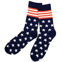 Stars & Stripes Novelty Socks