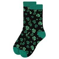 Women's St. Patrick's Day Shamrock Clover Novelty Socks