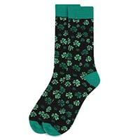Men's St. Patrick's Day Shamrock Clover Novelty Socks