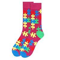Autism Awareness Novelty Socks