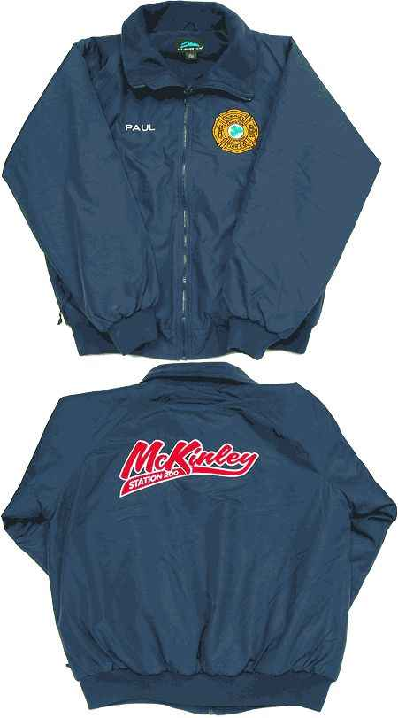Custom Firefighter Deluxe Jackets