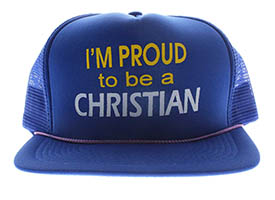 I'm Proud to be a Christian Baseball Cap