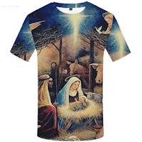 Christmas Manger Scene T-Shirt