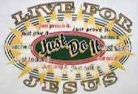 Live for Jesus Christian T-Shirt