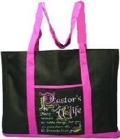 Pastor's wife tote bag