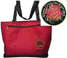 Red Rose Tote Bags