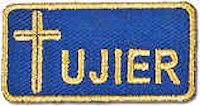 Ujier Embroidered Patch Small