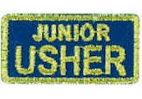 Junior Usher Embroidered Patch