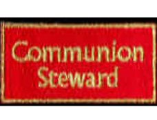 Communion Steward Patch Image