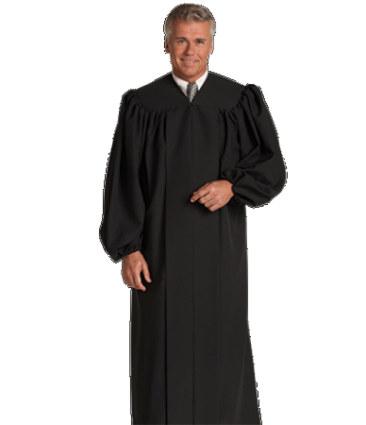 Pastor Baptismal Black Robe