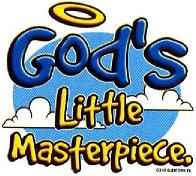 God's Little Masterpiece Infant T-Shirt