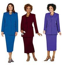 Women's Single-Breasted 2-button Usher Uniform