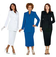 Women's Double-breasted Church Usher Uniforms