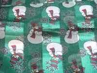 snowmen scarf green
