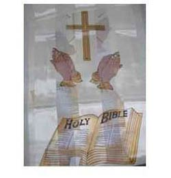 Cross, Bible & Praying Hands Scarf in 9 colors