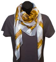 Dove Gold Scarf