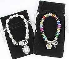 Black Velvet Jewelry Gift Bags