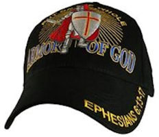 Armour Armor of God Screened  Embroidered Cap