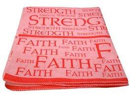 Strength and Faith Pink Bandana