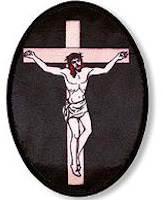 Crucifix Sticker Applique