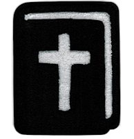Bible Chenille Large Patch