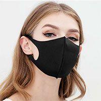 Reusable Face Mask Sets - Washable Black Masks -2