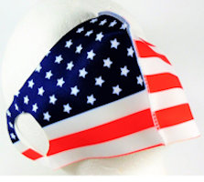 USA Flag Face Covering - Washable and Reusable