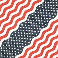 US Flag Bandana Stars & Bars