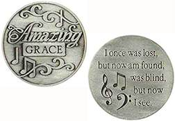 Amazing Grace Coin Christian Music