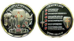 Coin - Christian Soldier Checklist Deluxe Token