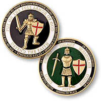Defend the Faith Armor of God Coin